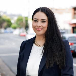 Linda Karkafi, Commcentric founder and Senior Communications Advisor